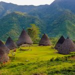 picture of wae rebo village flores indonesia