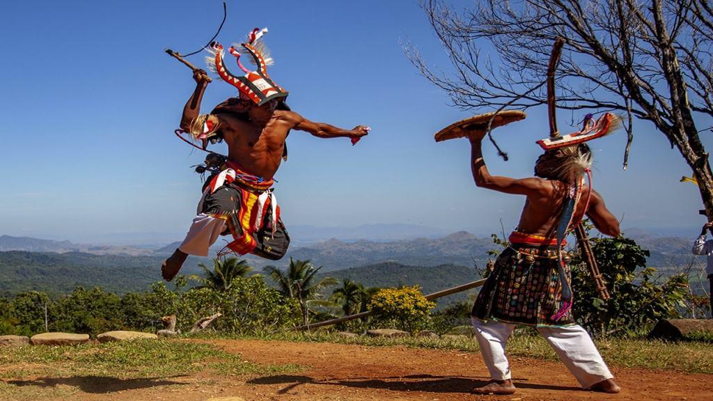 Caci Dance from Manggarai Flores