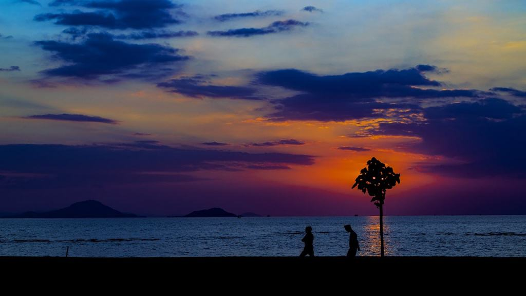 Labuan Bajo has incredible sunset moment