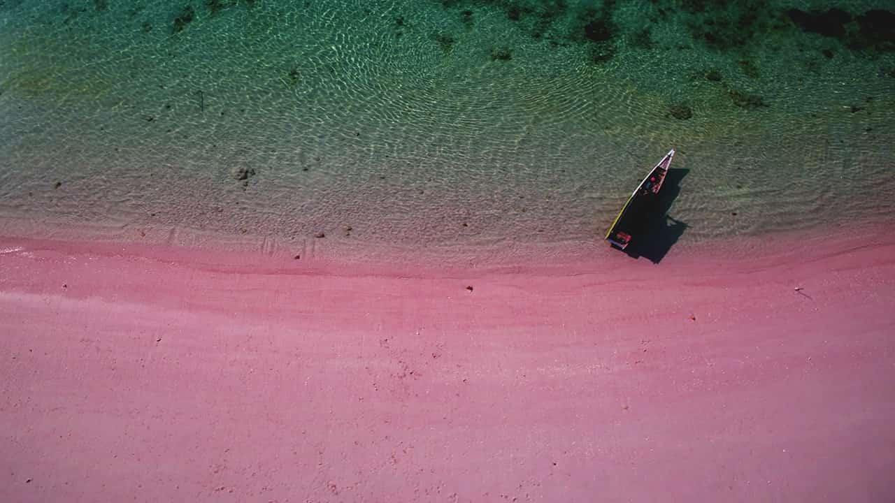 padar beach komodo indonesia